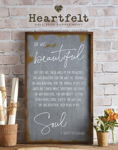 Heartfelt Collection Fall Catalog 2020