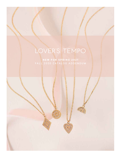 Lover's Tempo Design Inc. Spring 2021 Catalog Addendum