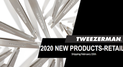 Tweezerman 2020 RETAIL New Products