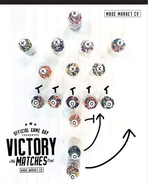 Made Market Co. Official Victory Matches 2018
