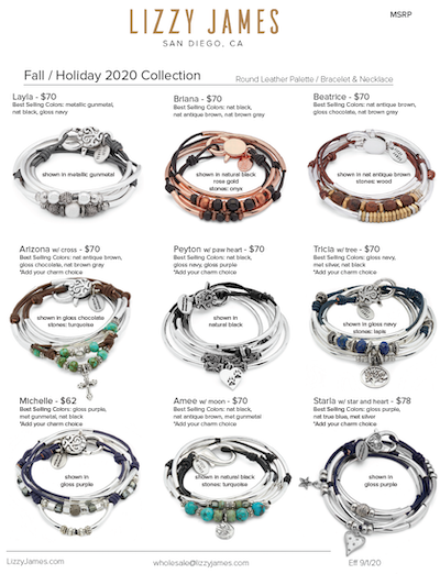 Lizzy James Fall-Holiday Release 2020
