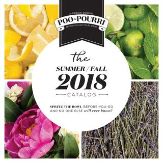 Poo-Pourri 2018 Summer / Fall Boutique Catalog