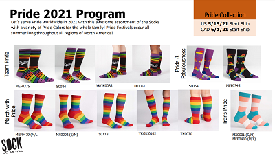 Sock it to Me Pride Collection 2021