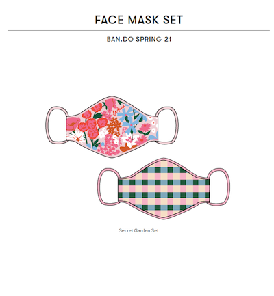 ban.do Face Masks Spring 21 Lookbook