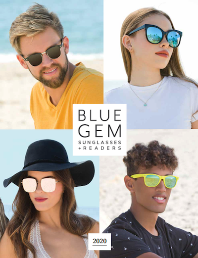 Blue Gem Sunglasses 2020 Catalog