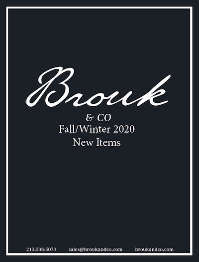 Brouk and Co. Fall / Winter 2020 Supplement