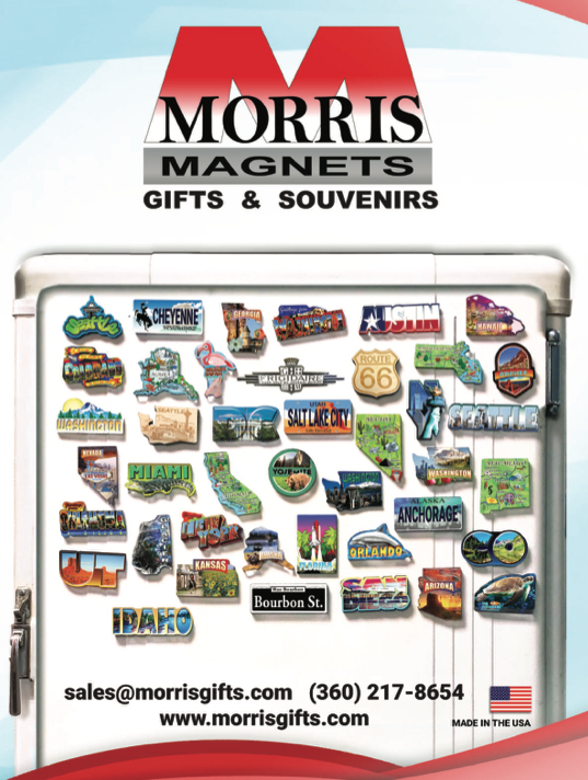 Morris Magnets Gifts & Souvenirs 2018 Catalog