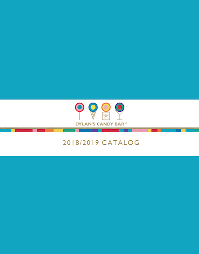 Gift Wrap Company Dylan's Candy Bar 2018 / 2019 Calalog