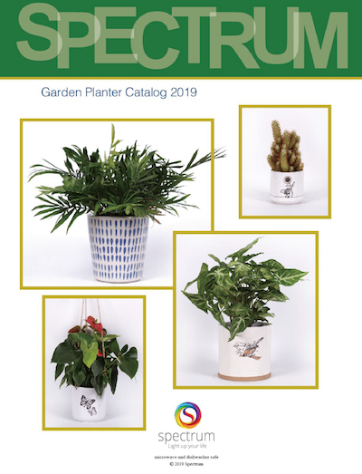 Blue Sky Spectrum Garden Planter Catalog 2019