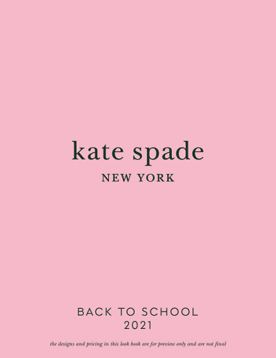 Lifeguard Press Kate Spade BTS 2021 Lookbook