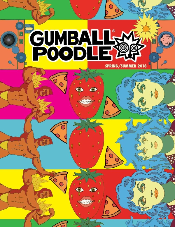 Gumball Poodle 2018 Catalog
