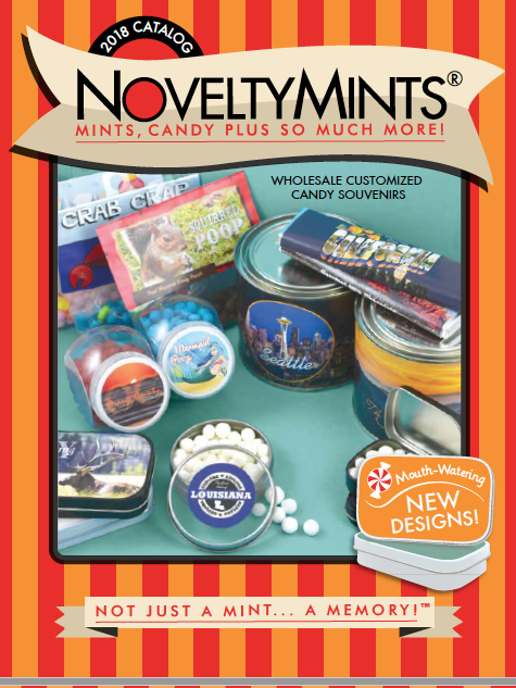 NoveltyMints 2018 Catalog