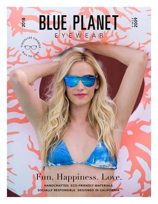 Blue Planet Eyewear 2018 Catalog