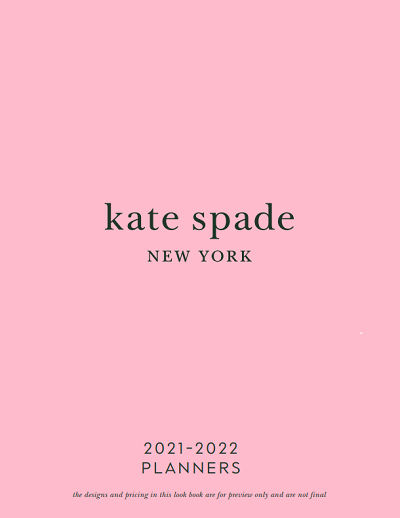 Lifeguard Press Kate Spade Planner 21 Lookbook