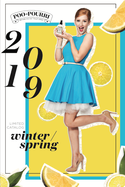 Poo-Pourri Winter / Spring Limited Catalog