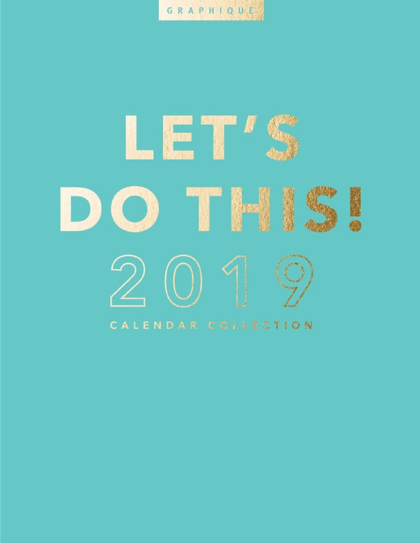Graphique 2019 Calendar Collection