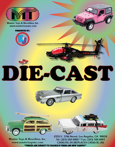 Master Toys and Novelties Die Cast 2019 Catalog