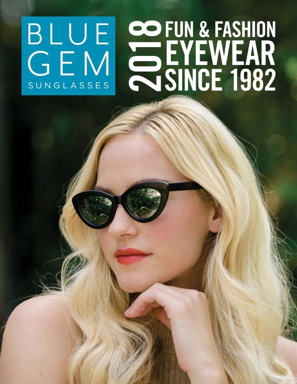Blue Gem Sunglasses 2018 Catalog