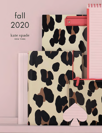 Lifeguard Press Kate Spade Fall 2020 Catalog