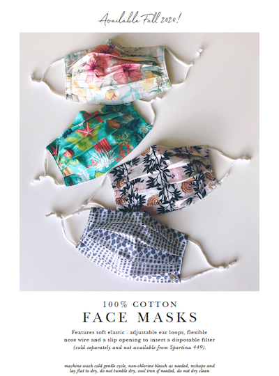 Spartina 449 FaceMasks 2020