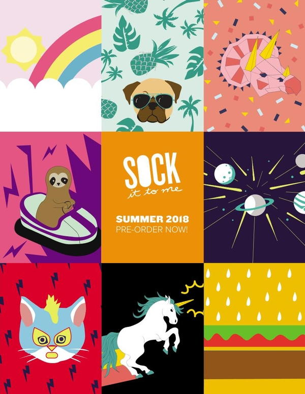 Sock it to Me Summer 2018