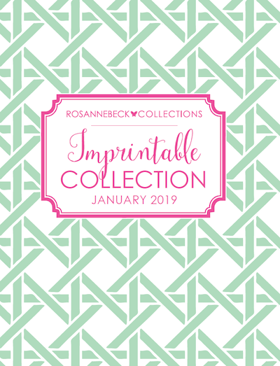 Rosanne Beck Collections Imprintable Collection 2019