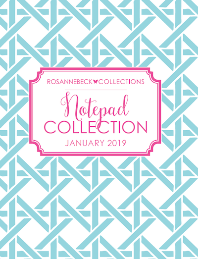 Rosanne Beck Collections Notepad Collection 2019